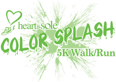 Heart & Sole Color Splash